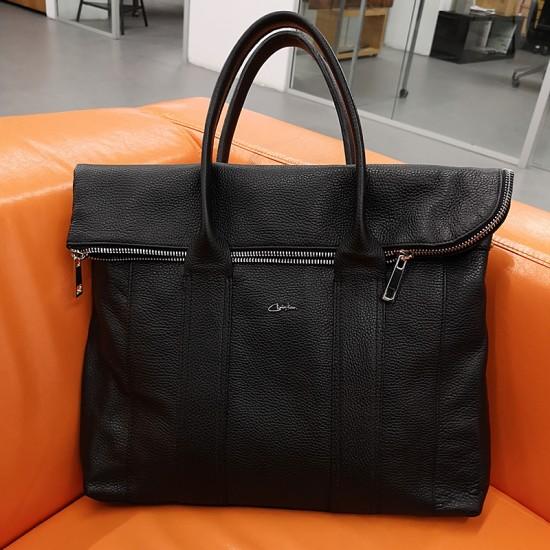 Geanta piele naturala barbati CH 1 - Metropolitan business leather bag
