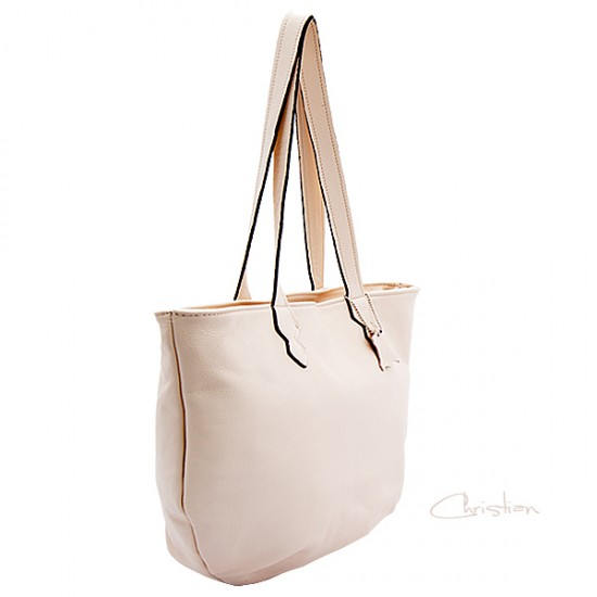 Geanta dama piele naturala - MC 42 Beach Leather Bag