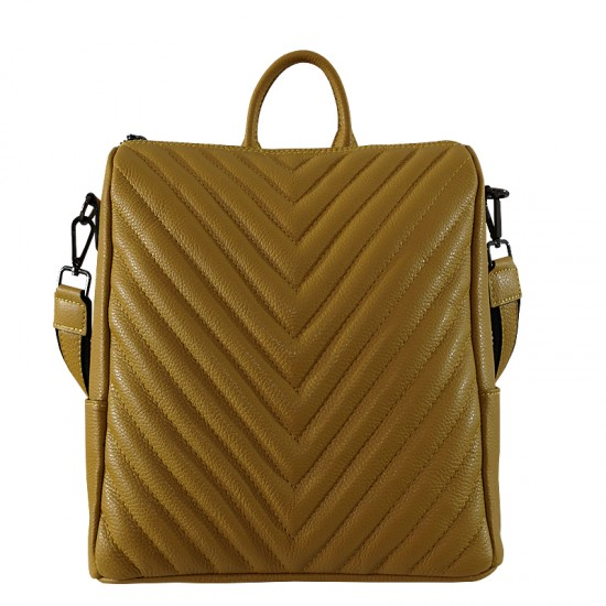 Adele Yellow Soft Leather