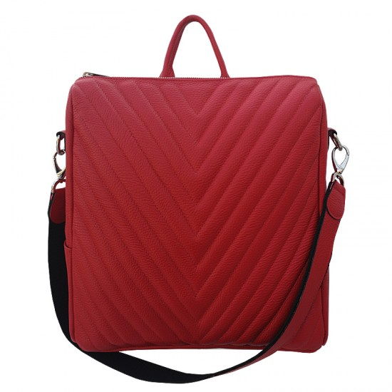 Adele Red soft leather
