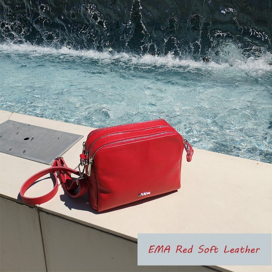 EMA Red Soft Leather