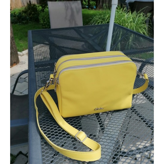 EMA Yellow Color Soft Leather