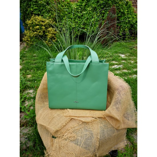Oslo Custom Green Soft Leather