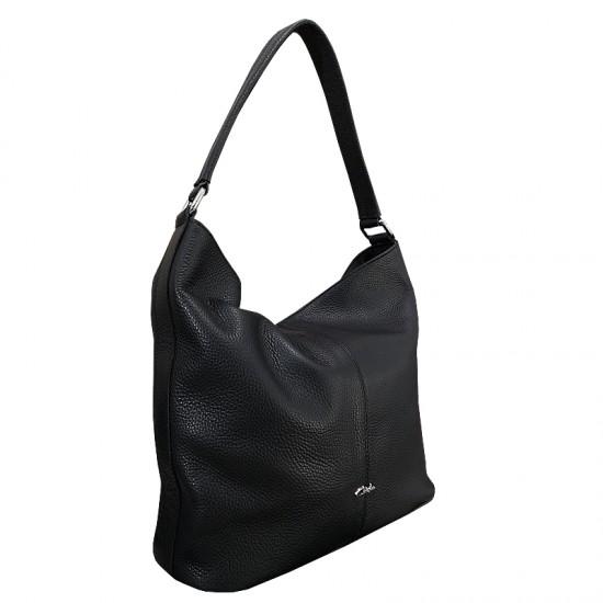 Florina Black Code Leather