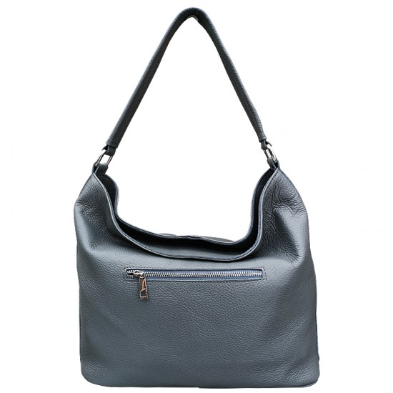 Florina Grey Leather