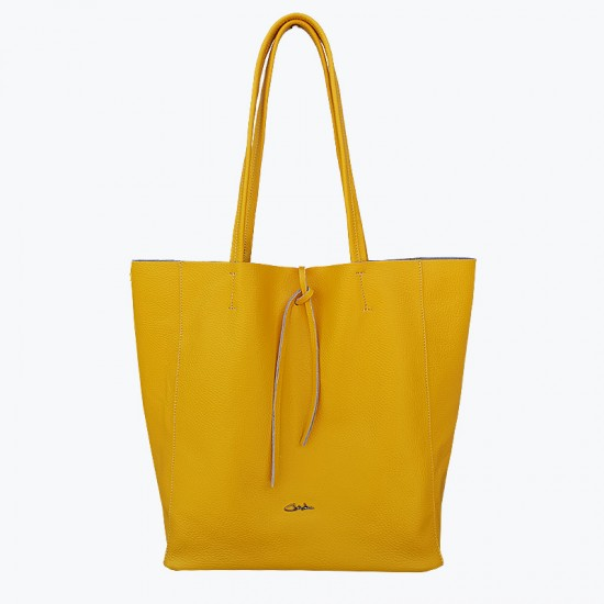 Basic Bag Yellow Leather