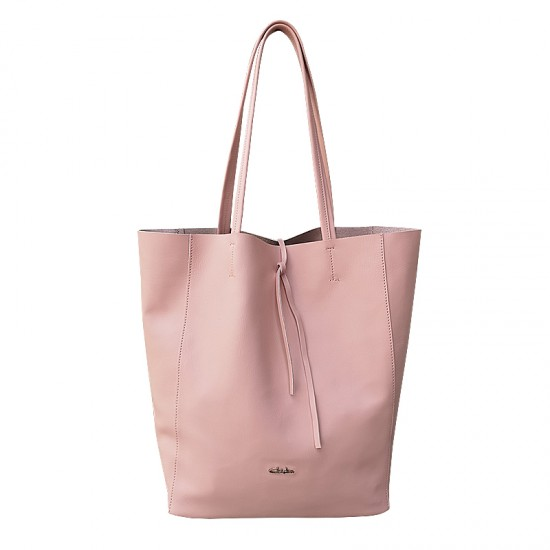 Basic Bag Pink Powder Leather