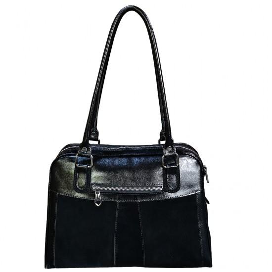 Luiza Velur & Box Leather