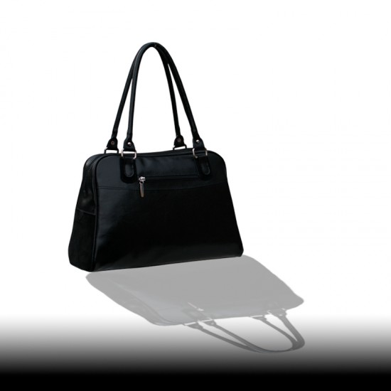 Geanta dama piele naturala - F 67 Fringe Velur Classic Bag