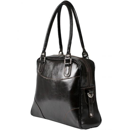 Geanta din piele naturala  F 70 - Khatia Premium Leather Bag