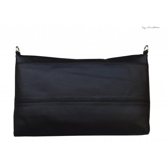 Geanta dama piele naturala- MC 24 Black Napa
