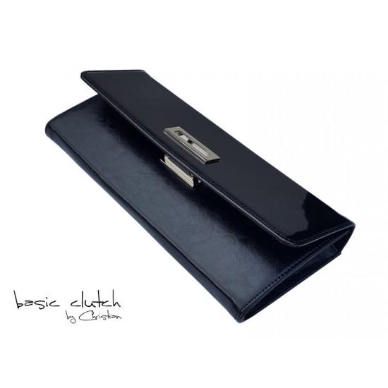 P02 Vernice Nero Leather
