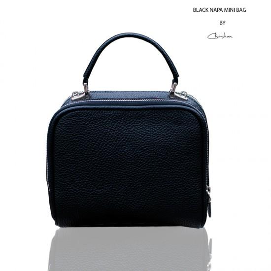Geanta dama piele naturala - MC 30 Soft Mini Bag Black