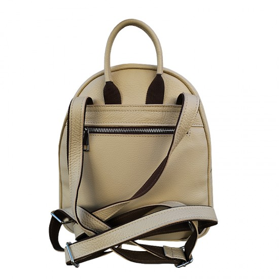 Andra Backpack Multicolor Cream Leather