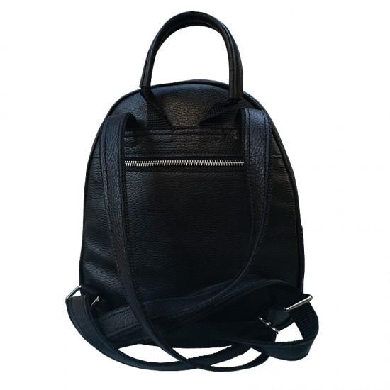 Andra BackPack Black Soft Leather